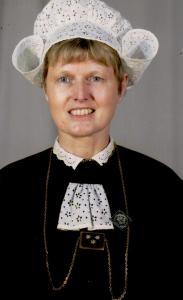 Marleen Van Den Broeck zilveren broche